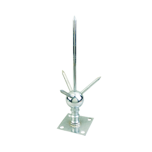 Tin Plated Copper Arrester Air Termination Lightning Rod