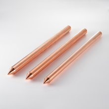 Copper Bonded Earth Rod (Un-Thread)-ER